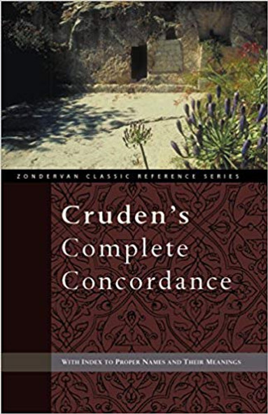 Cruden's Complete Concordance (Zondervan Classic Reference) Cover