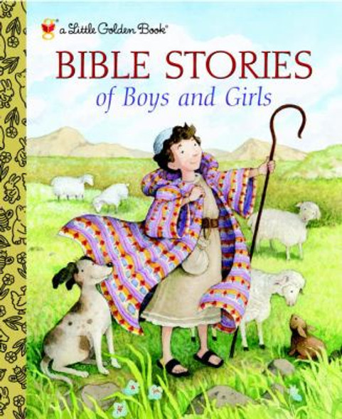 Bible Stories of Boys and Girls (Little Golden Book) Cover