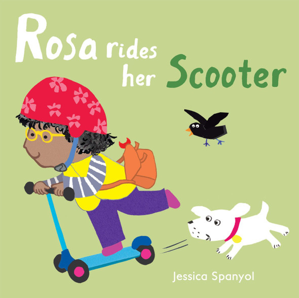 Rosa Rides Her Scooter (Rosa's Toys) Cover