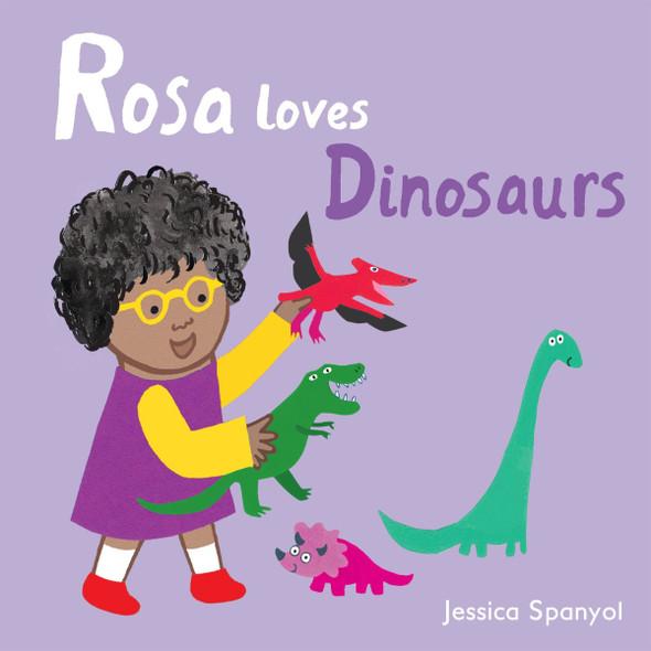 Rosa Loves Dinosaurs (Rosa's Toys) Cover