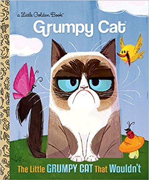 The Little Grumpy Cat That Wouldn't ( Little Golden Book ) Cover