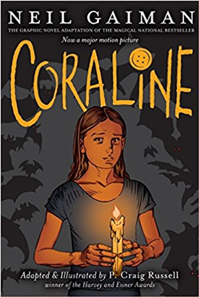 Coraline: The Graphic Novel Cover