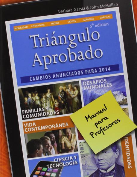 Tri'ngulo Aprobado: Teacher Edition Cover