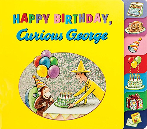 Happy Birthday, Curious George Cover