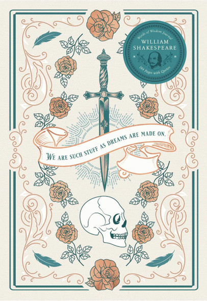 William Shakespeare Words of Wisdom Journal Cover