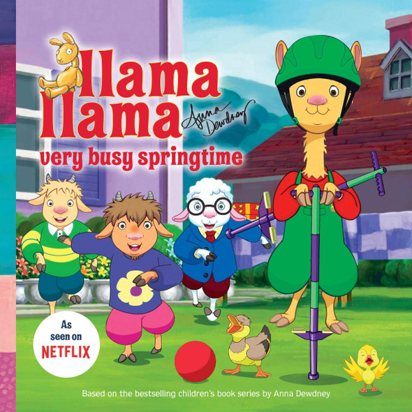 Llama Llama Very Busy Springtime (Llama Llama) Cover