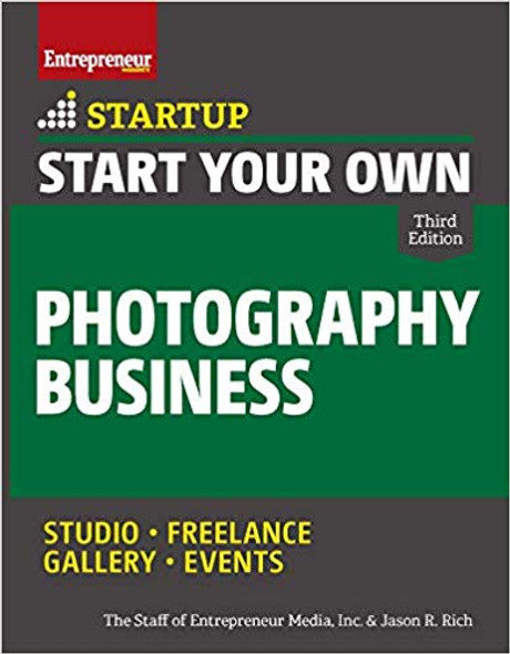 Start Your Own Photography Business (Startup) Cover