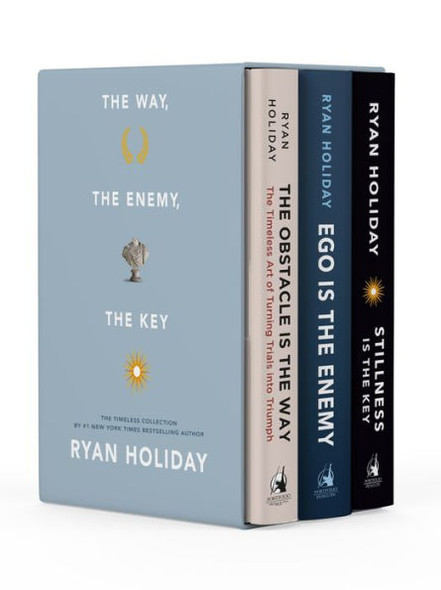 The Way, the Enemy, and the Key: A Boxed Set of The Obstacle is the Way, Ego is the Enemy & Stillness is the Key Cover