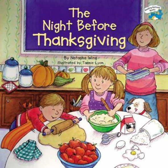The Night Before Thanksgiving Cover