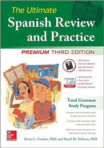 The Ultimate Spanish Review and Practice (Revised) (3RD ed.) Cover