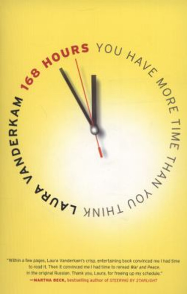 168 Hours: You Have More Time Than You Think Cover