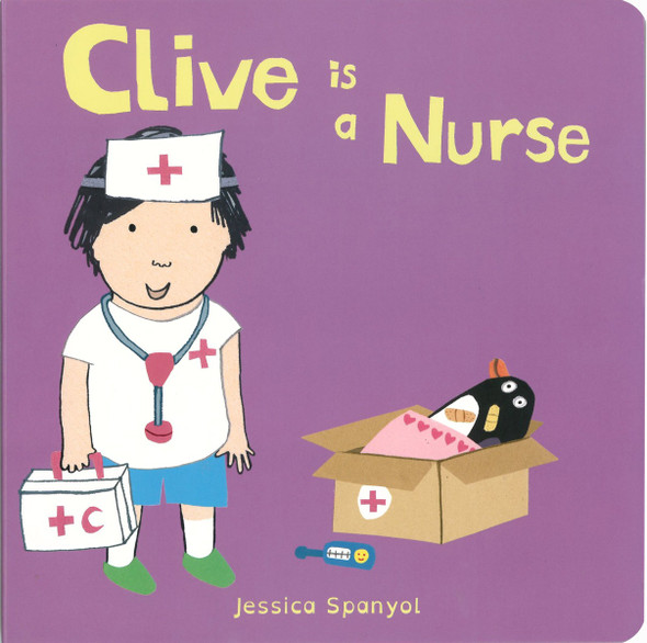 Clive Is a Nurse Cover