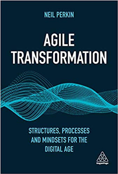 Agile Transformation: Structures, Processes and Mindsets for the Digital Age Cover