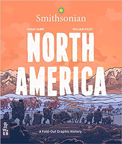 North America: A Fold-Out Graphic History Cover
