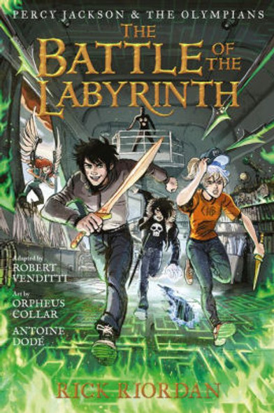 Percy Jackson and the Olympians the Battle of the Labyrinth: The Graphic Novel Cover