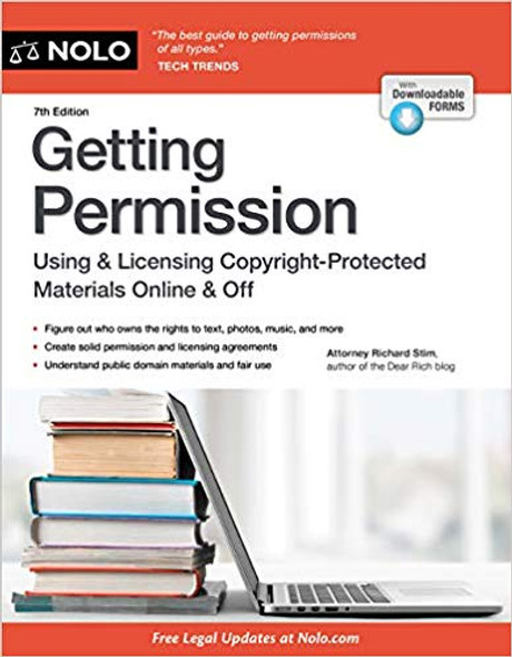 Getting Permission: How to License & Clear Copyrighted Materials Online & Off (7TH ed.) Cover