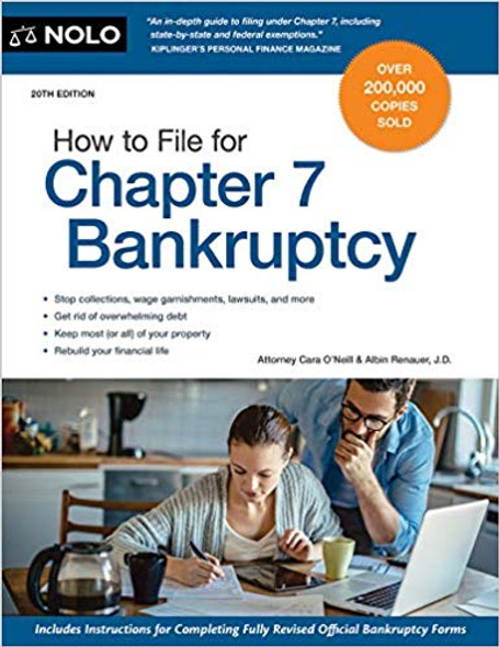 How to File for Chapter 7 Bankruptcy (Twenty First) (21ST ed.) Cover