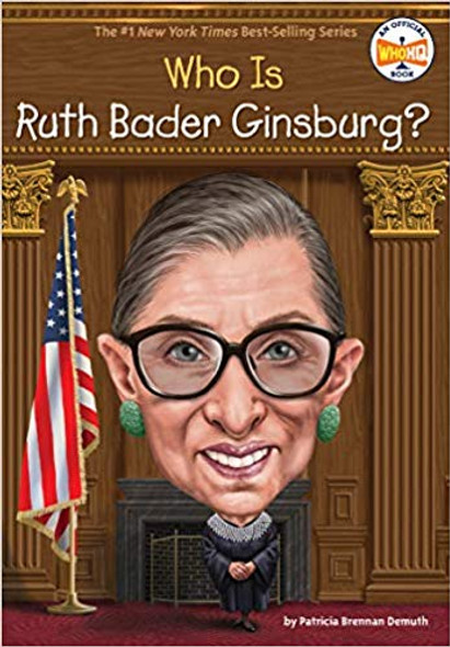 Who Is Ruth Bader Ginsburg? (Who Was?) Cover