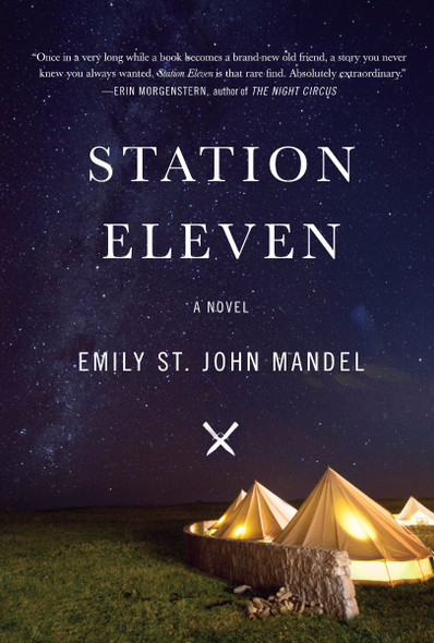 Station Eleven (Large Print) Cover