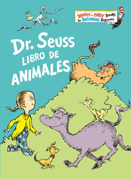Dr. Seuss Libro de Animales (Dr. Seuss's Book of Animals Spanish Edition) ( Bright & Early Books(r) ) Cover