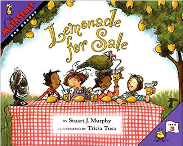Lemonade for Sale (Mathstart 3 #2) Cover