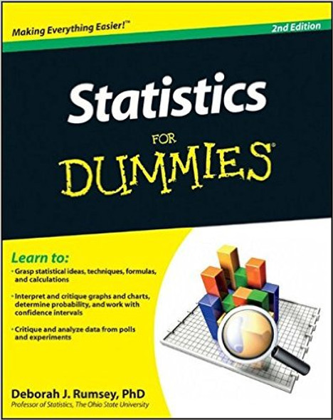 Statistics for Dummies (2ND ed.) Cover