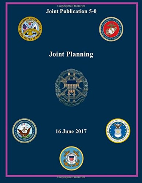 Joint Publication (JP) 5-0, Joint Planning 16 June 2017 Cover