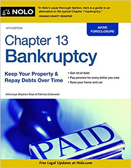 Chapter 13 Bankruptcy: Keep Your Property & Repay Debts Over Time Cover