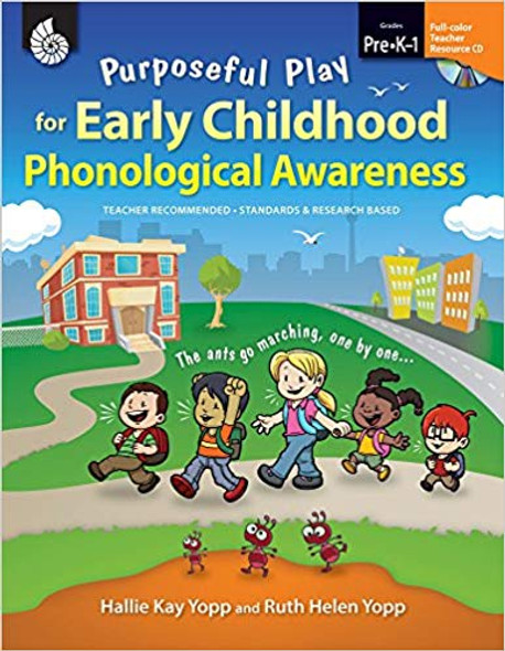 Purposeful Play for Early Childhood Phonological Awareness: Level Pre-K-1 [With CDROM] (Classroom Resources) Cover