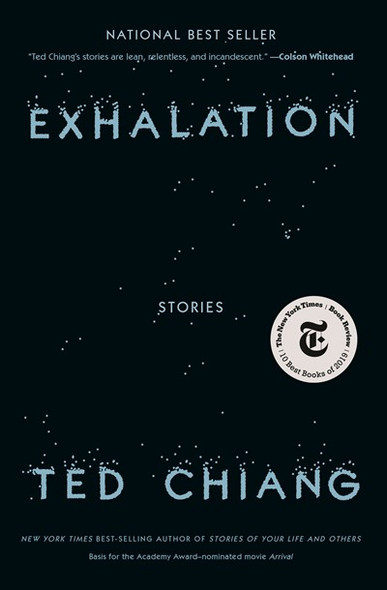 Exhalation: Stories Cover