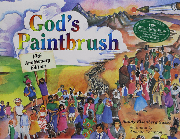 God's Paintbrush (Tenth Anniversary) Cover