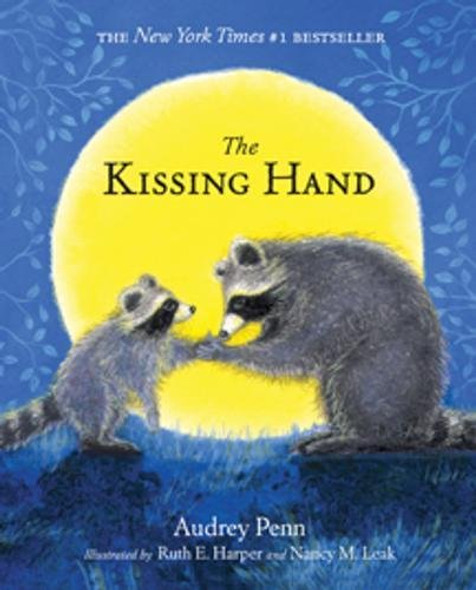 The Kissing Hand [With Stickers] Cover