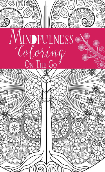 Coloring on the Go: Mindfulness Cover