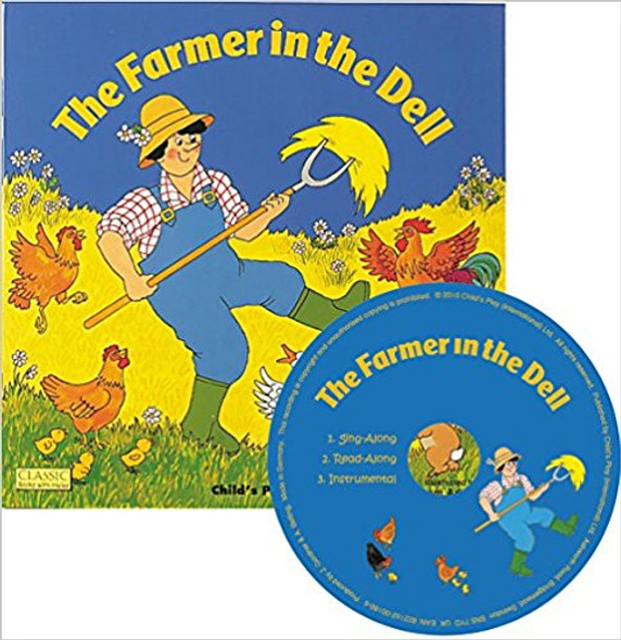 The Farmer in the Dell [With CD (Audio)] ( Classic Books with Holes ) Cover