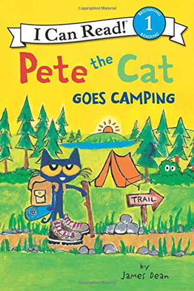 Pete the Cat Goes Camping (I Can Read Level 1) Cover