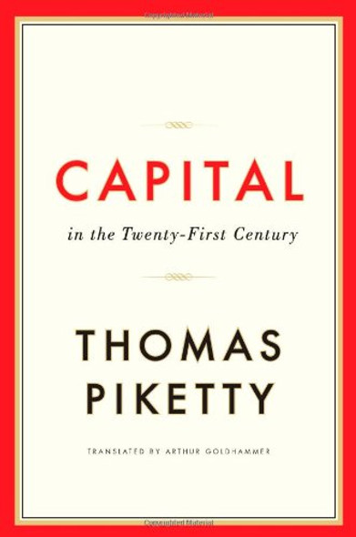 Capital in the Twenty-First Century Cover