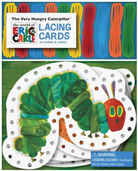 The Very Hungry Caterpillar Lacing Cards Cover