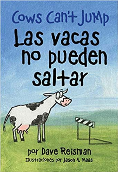 Cows Can't Jump (Bilingual Paperback Edition) Cover