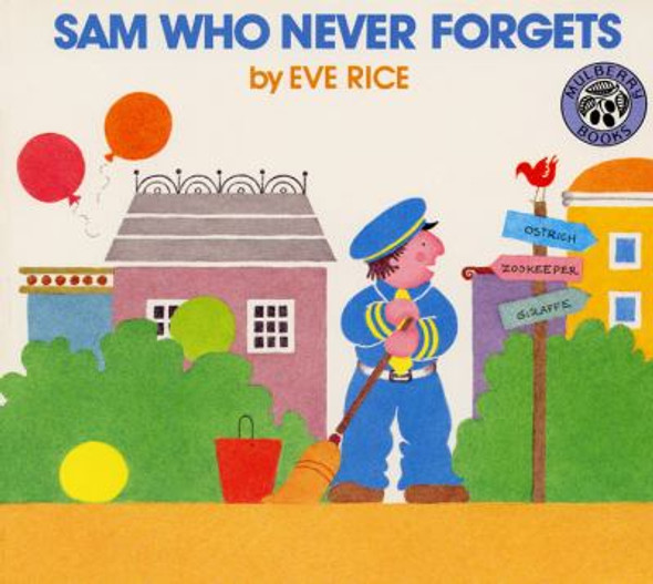 Sam Who Never Forgets Cover