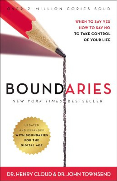 Boundaries Updated and Expanded Edition: When to Say Yes, How to Say No To Take Control of Your Life Cover