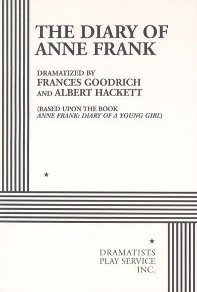 The Diary of Anne Frank: A Play Cover