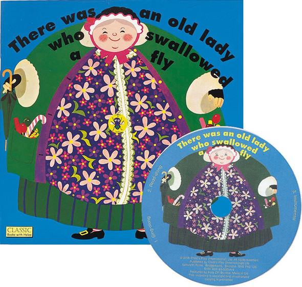 There Was an Old Lady Who Swallowed a Fly [With CD] ( Classic Books with Holes ) Cover