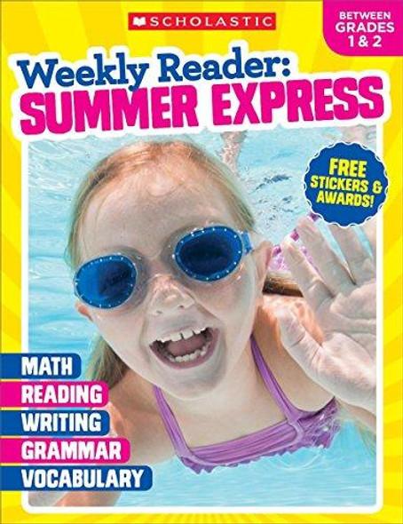 Weekly Reader: Summer Express (Between Grades 1 & 2) Workbook Cover