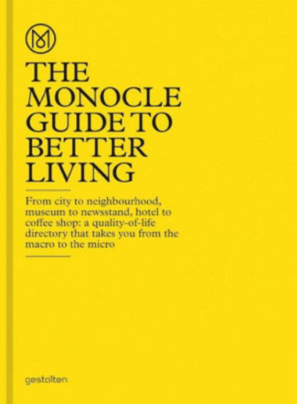The Monocle Guide to Better Living Cover