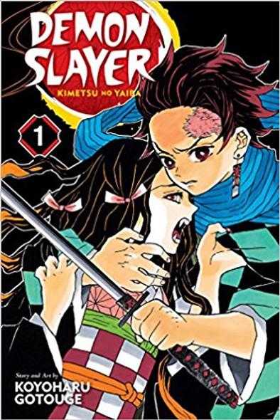 Demon Slayer: Kimetsu No Yaiba, Vol. 1 Cover