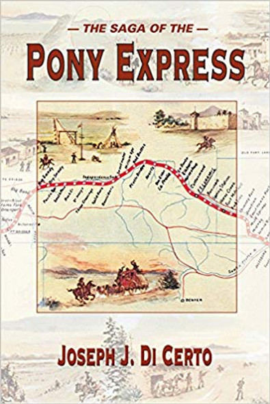 The Saga of the Pony Express Cover