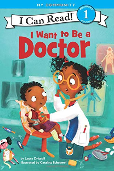 I Want to Be a Doctor (I Can Read Level 1) Cover