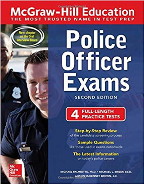 McGraw-Hill Education Police Officer Exams, Second Edition (2ND ed.) Cover