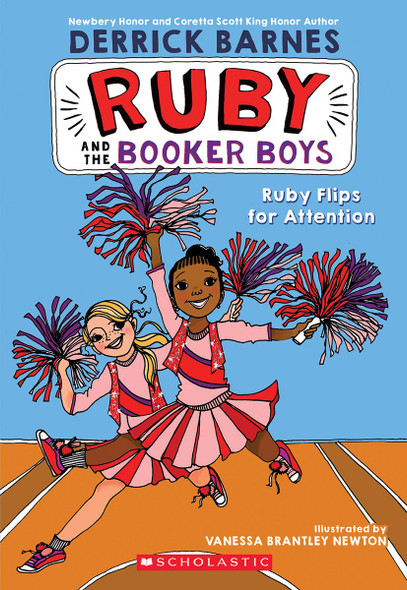 Ruby Flips for Attention (Ruby and the Booker Boys #4) Cover