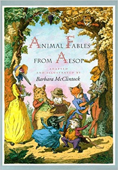 Animal Fables from Aesop Cover